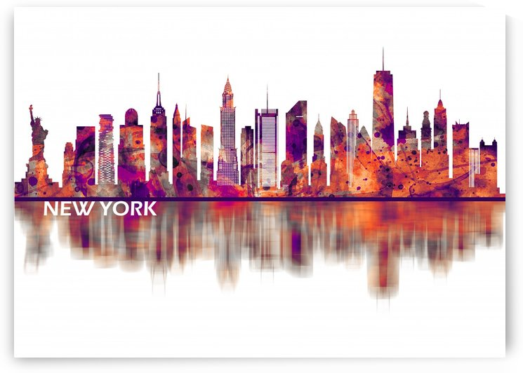 New York City Skyline by Towseef
