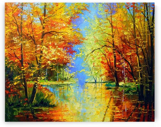 Autumn silence  by Olha Darchuk