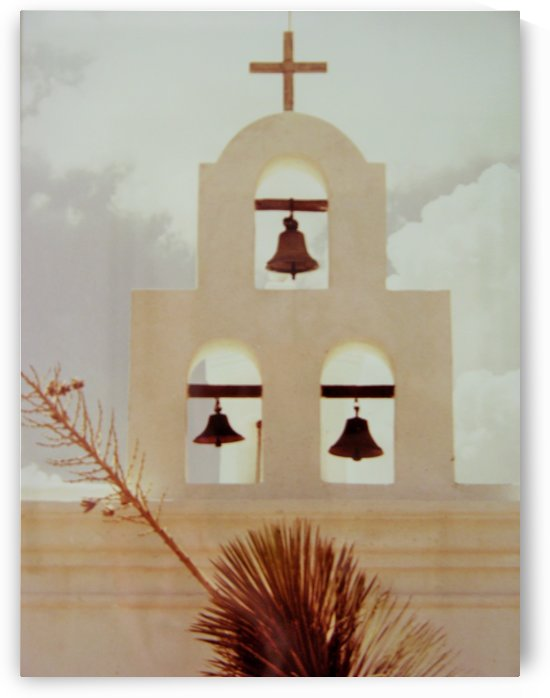 San Xavier Mission Tucson Arizona 1970s Art Photograph by Katherine Lindsey Photography