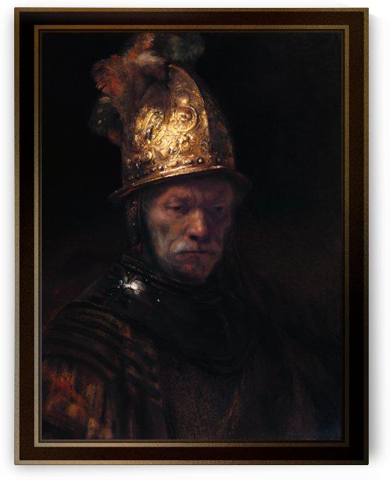 The Man with the Golden Helmet by Rembrandt van Rijn by xzendor7