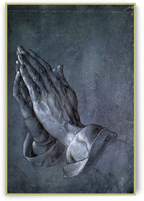 Hands of an Apostle by Albrecht Durer