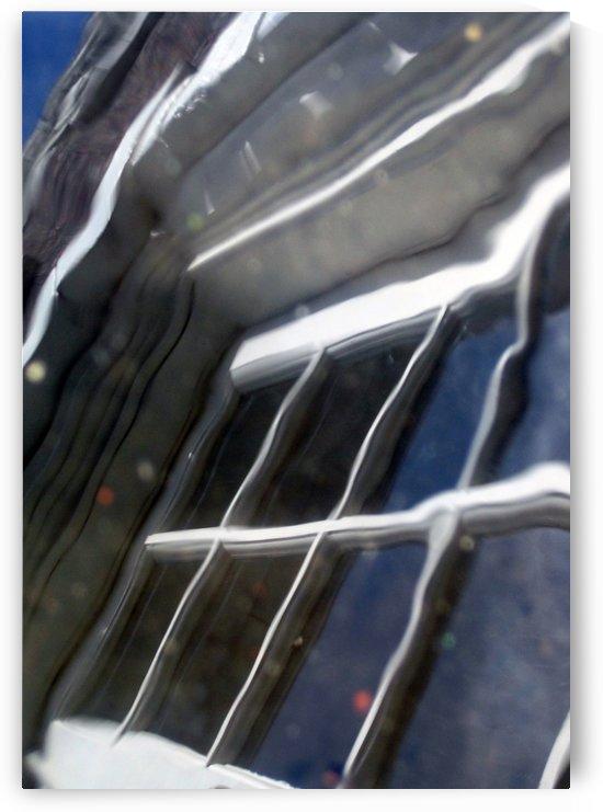French Door Reflection 3 by Jaeda DeWalt