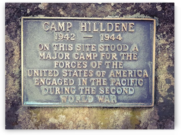 Memorial Plaque - US Army WW2 by Sorensen Images