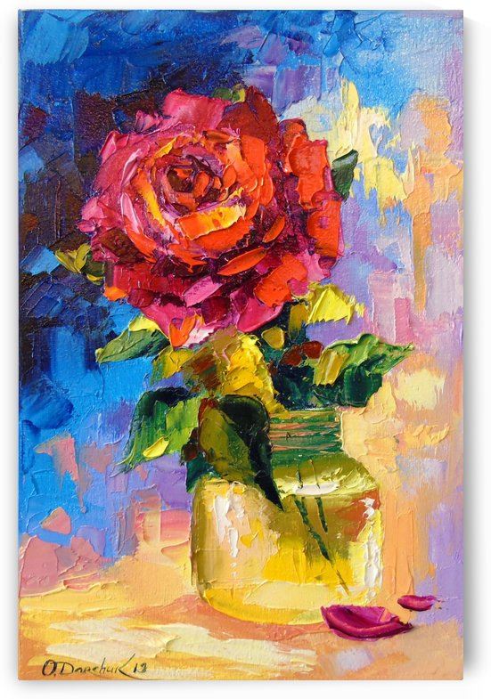 Rose for you  by Olha Darchuk