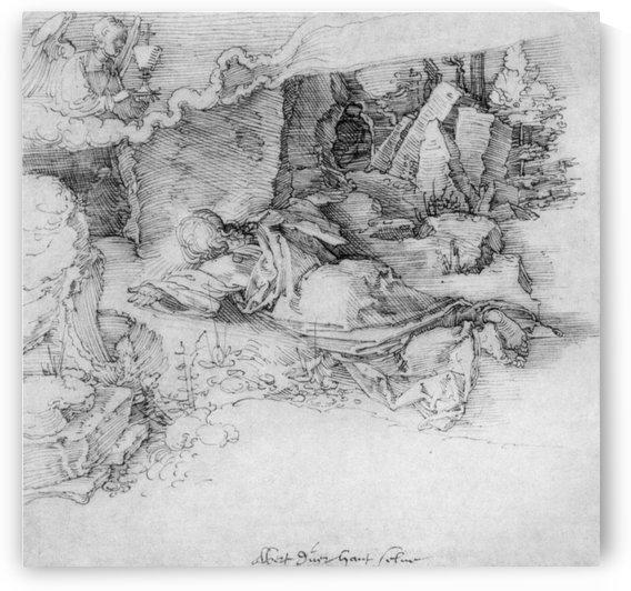 Christ on the Mount of Olives by Albrecht Durer