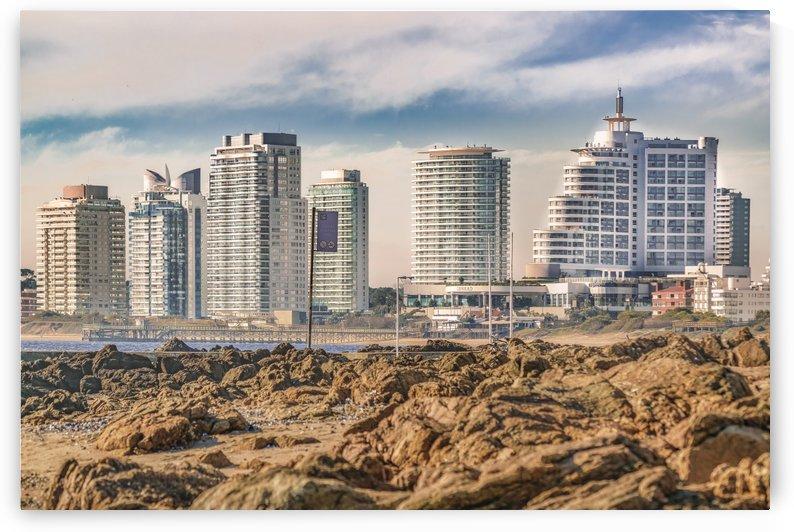 Punta del Este Cityscape, Uruguay by Daniel Ferreia Leites Ciccarino