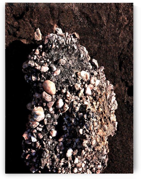 Australia Rocks - Abstract 42 by Lexa Harpell