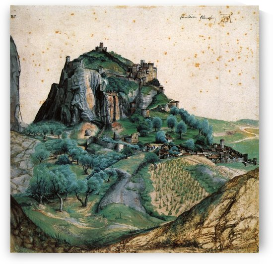 View of the Arco Valley in the Tyrol by Albrecht Durer