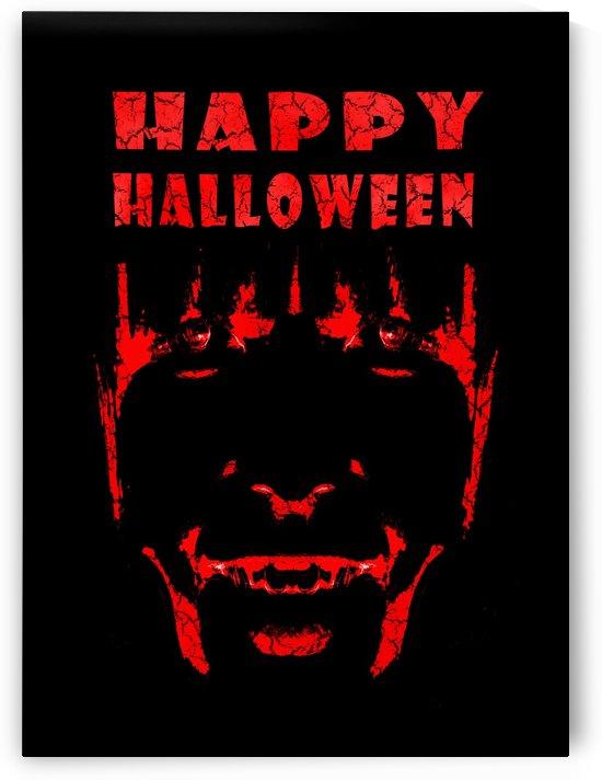 Happy Halloween Poster Artwork by Daniel Ferreia Leites Ciccarino