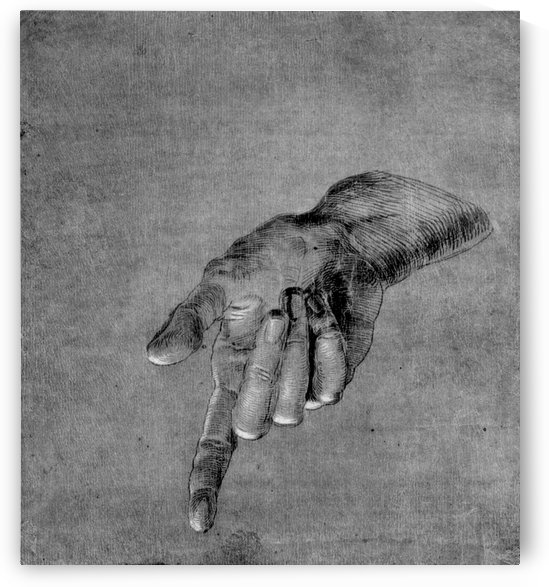 Right Hand of an Apostle by Albrecht Durer