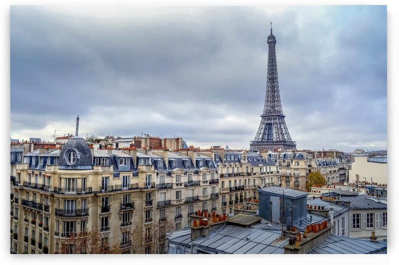 View from the Paris Apartment by Jean Farrell