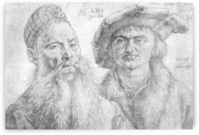 Portrait of Paul Martin and the Topler Pfinzig by Albrecht Durer