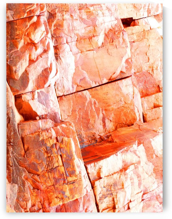 Australia Rocks - Abstract 50 by Lexa Harpell
