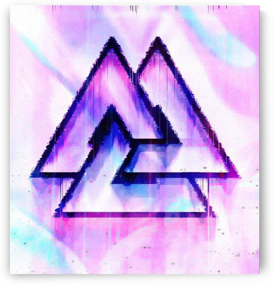 Valknut Light & Colorful by Rabid Solutions