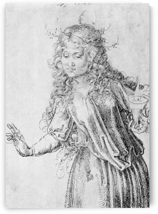 One of the wise virgins by Albrecht Durer