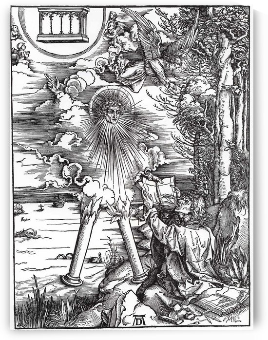 St. John Devouring the Book from the 'Apocalypse' by Albrecht Durer