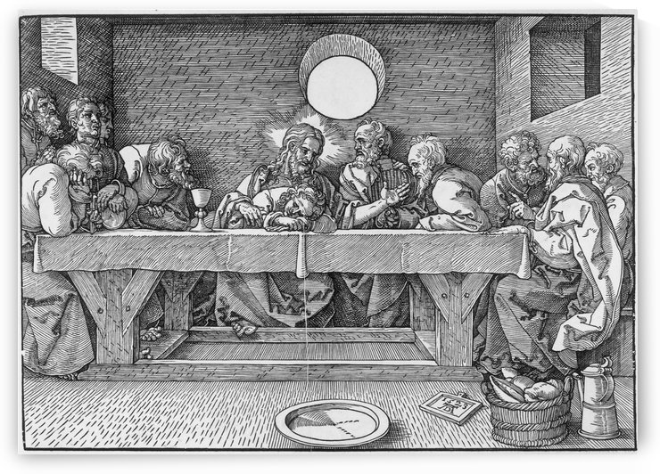 Last Supper by Albrecht Durer