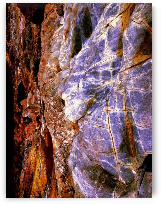 Australia Rocks - Abstract 55 by Lexa Harpell