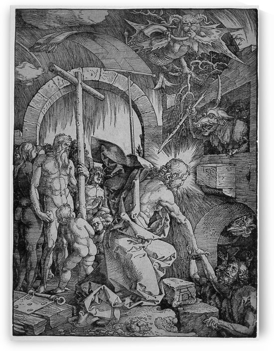 Christ in Limbo by Albrecht Durer
