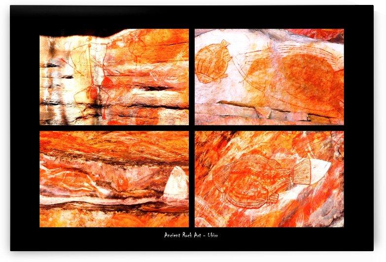 Ancient Rock Art  - 3 by Lexa Harpell