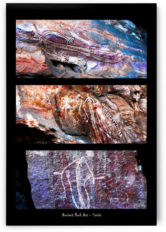 Ancient Rock Art  - 4 by Lexa Harpell