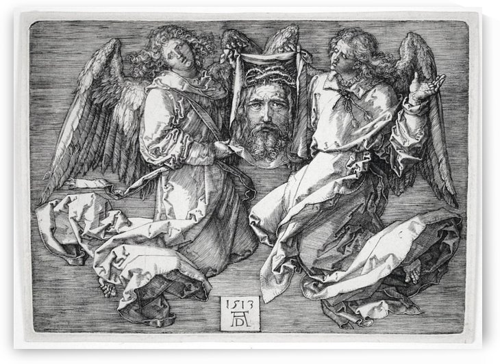 Sudarium Held by Two Angels by Albrecht Durer