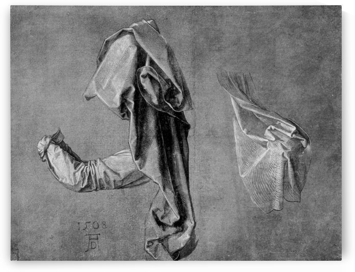 Garment studies by Albrecht Durer