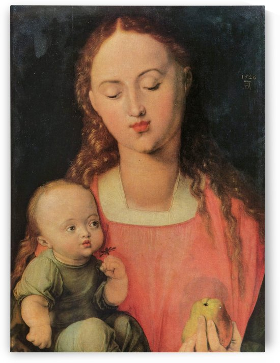 Maria with child by Albrecht Durer