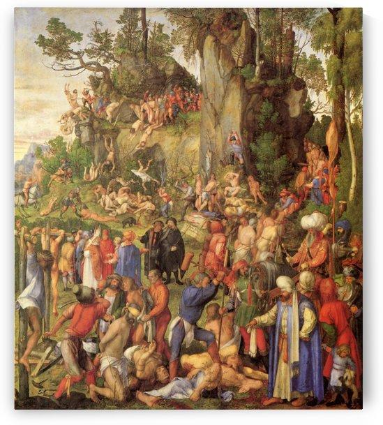 Marter der zehntausend Christen by Albrecht Durer