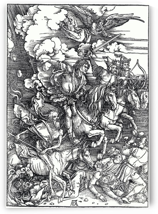 Four Horsemen of the Apocolypse by Albrecht Durer