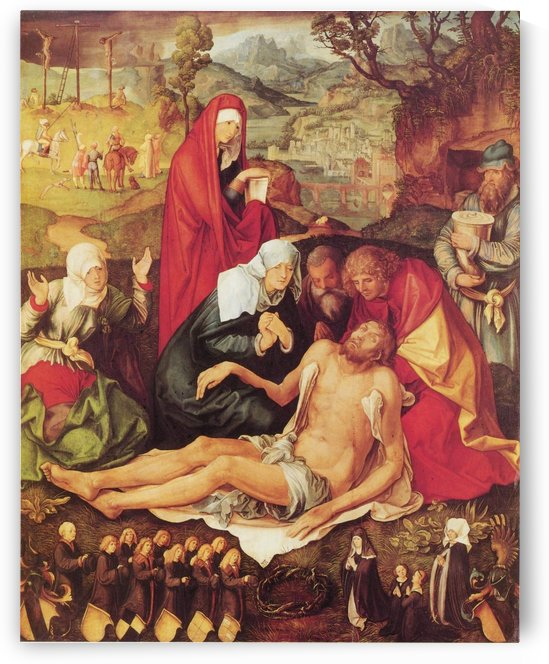 Lamentation of Christ by Albrecht Durer