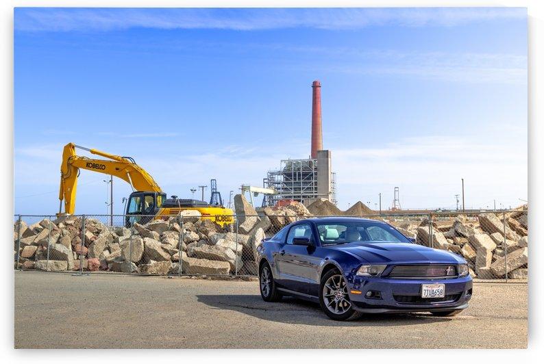 Industrial Mustang 4 by Jules Siegel