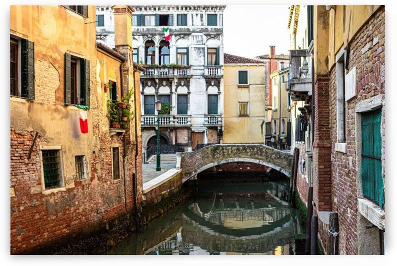 Venice Canal by Jules Siegel