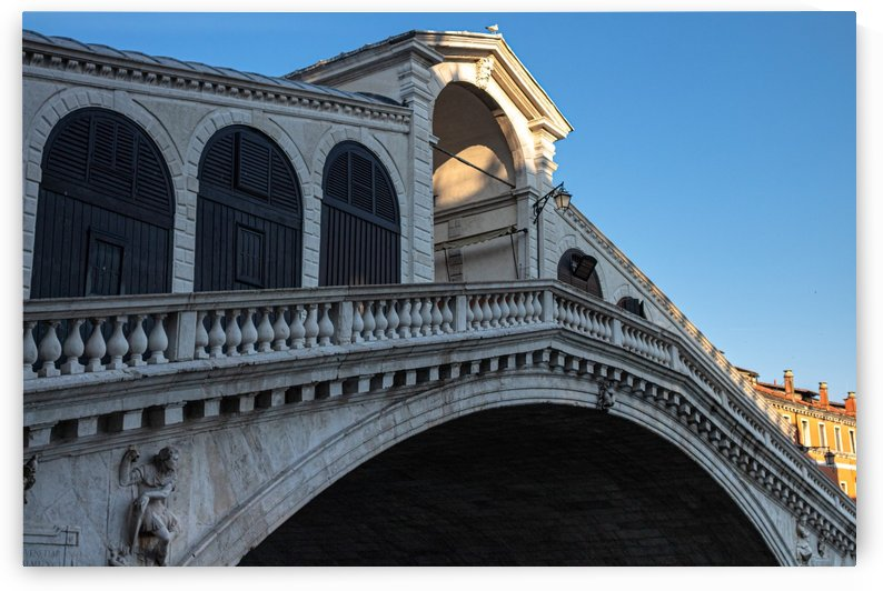 Rialto Bridge by Jules Siegel