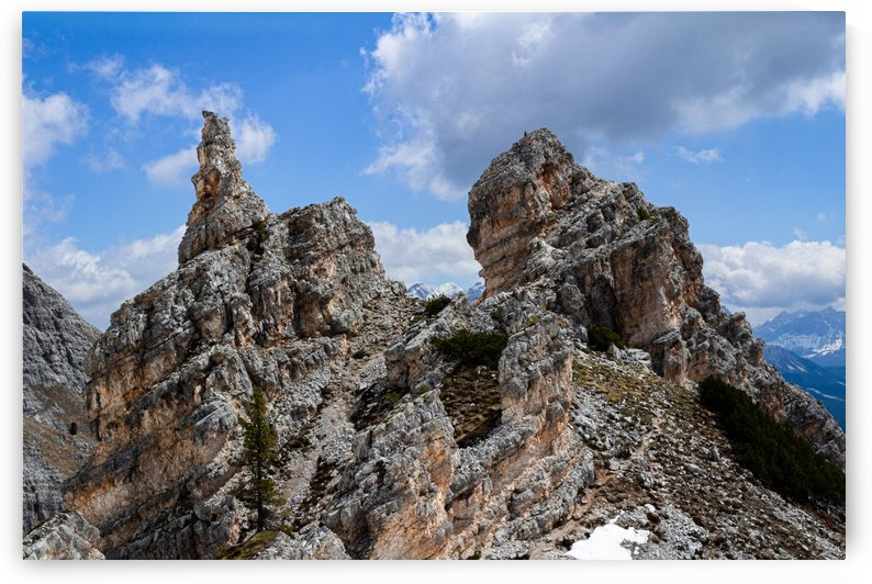 The Dolomites 3 by Jules Siegel