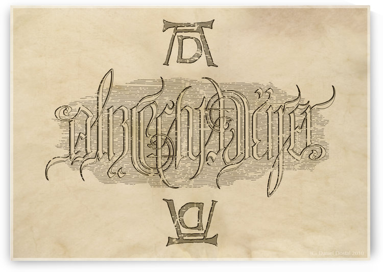 Albrecht Durer Ambigram by Albrecht Durer