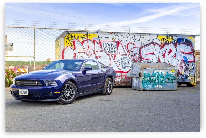 Industrial Mustang 1 by Jules Siegel