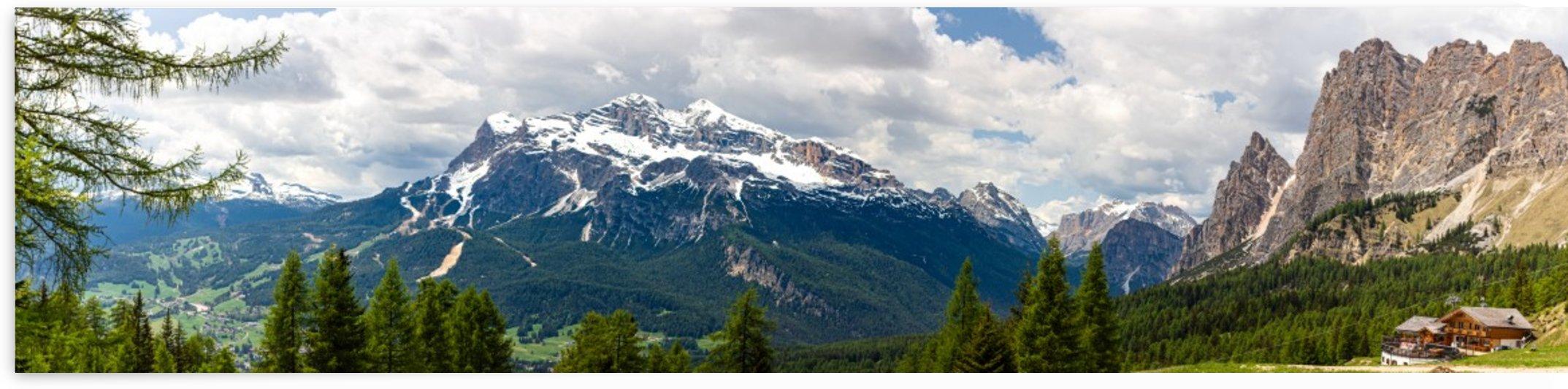 Dolomites Panorama by Jules Siegel