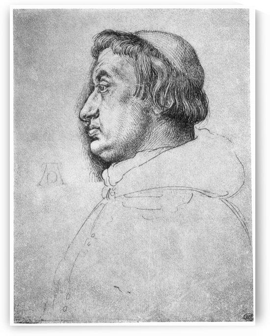 Portrait of Cardinal Albrecht of Brandenburg by Albrecht Durer