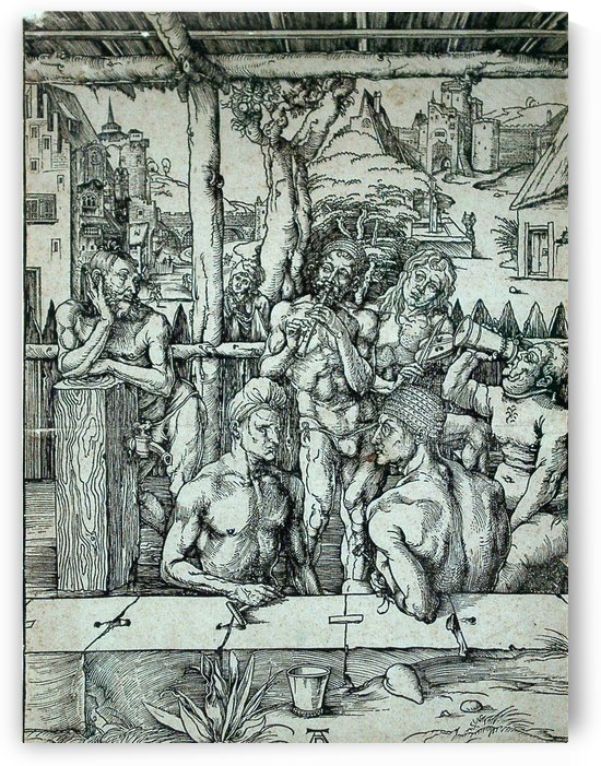 The Men's Bath by Albrecht Durer