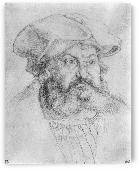 Portrait of Elector Friedrich the Wise by Albrecht Durer