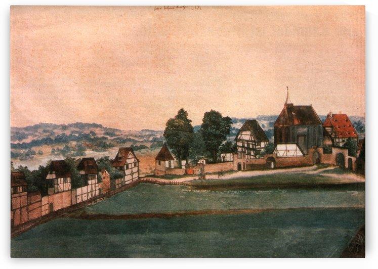 Erlauterung Johanniskirchhof by Albrecht Durer