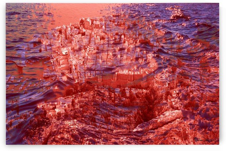 Dubrovnik en Croatie by Jean-Louis Desrosiers