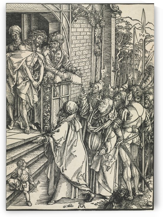 Jesus Christ taken to public by Albrecht Durer