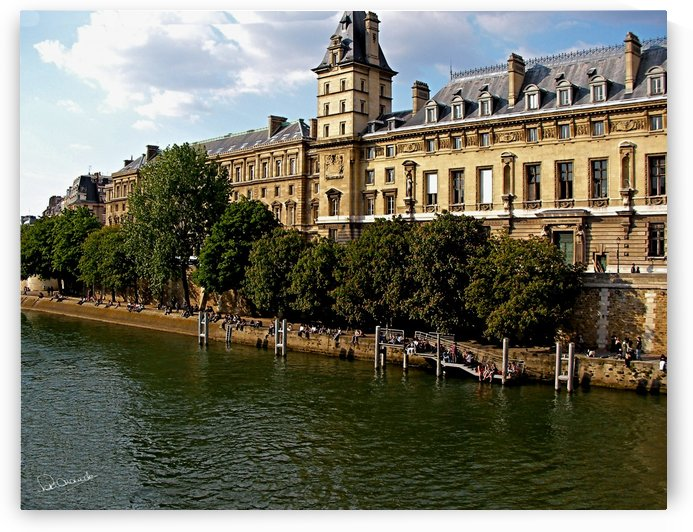 Sunday Afternoon on the Seine by Shadow and Form