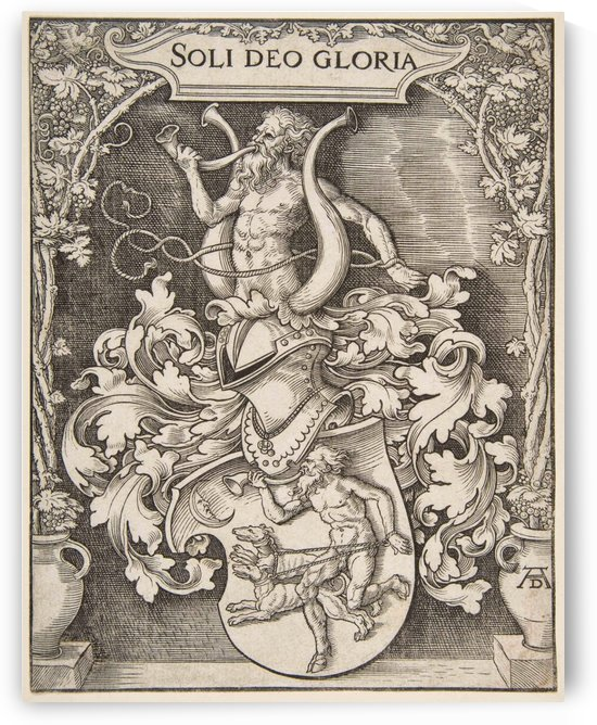 Coat of Arms of Johann Tscherte by Albrecht Durer