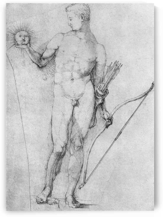 Apollo by Albrecht Durer