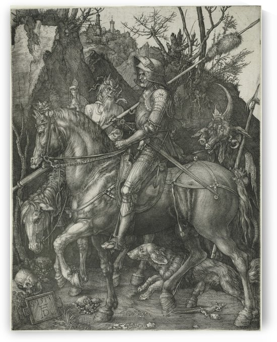 German knight by Albrecht Durer