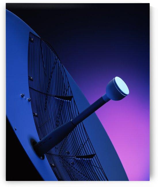 Blue Antenna by Ian Barr