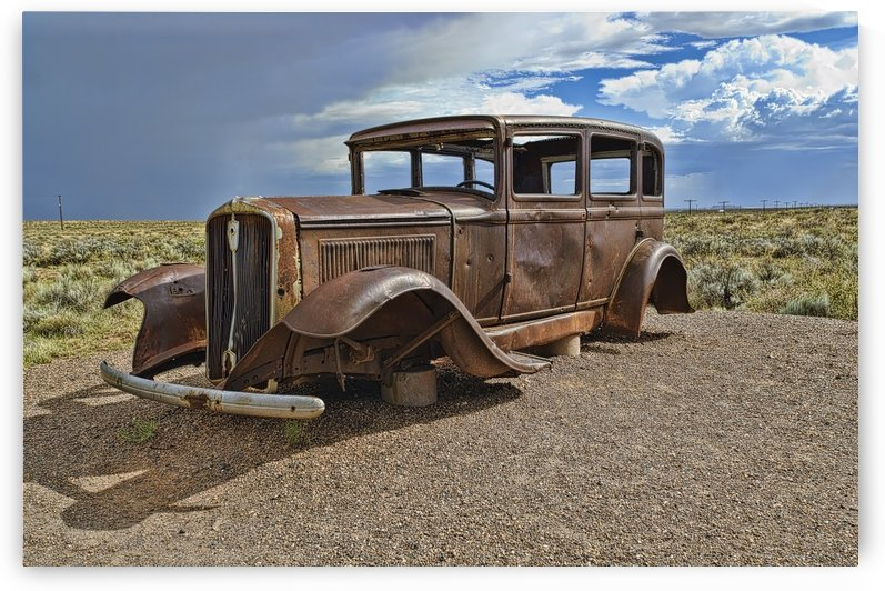 Route 66 Car by Ian Barr